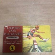 Coleccionismo Álbumes: ALBUM EL DEPORTE VISTO POR SUS ASES. Lote 182989412