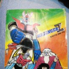 Coleccionismo Álbumes: MAZINGER Z CONTIENE 121 CROMOS. Lote 183188883