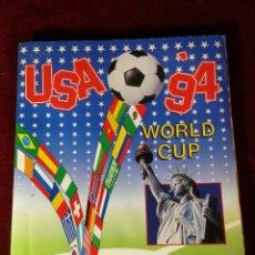 Coleccionismo Álbumes: ALBUM CROMOS INOMPLETO - PANINI USA '94 WORLD CUP MUNDIAL FUTBOL (FALTAN 29 DE 444 CROMOS). Lote 183238696
