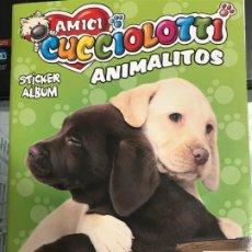 Coleccionismo Álbumes: ALBÚM DE CROMOS ANIMALITOS DE PANINI , VACIO, EN PERFECTO ESTADO.. Lote 183626983