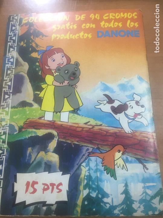 Coleccionismo Álbumes: Álbum Jacky Danone (faltan 56,58,63) - Foto 4 - 183863361