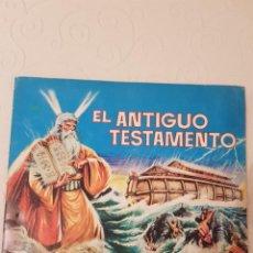 Coleccionismo Álbumes: EL ANTIGUO TESTAMENTO, ALBUM DE CROMOS, EDITORIAL FERMA, 1968, BUEN ESTADO. Lote 183871592