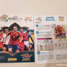 Coleccionismo Álbumes: UEFA EURO 2012 ADRENALYN XL PANINI, GAME BOARD, VENIA CON EL PACK DE LANZAMIENTO, NUEVO. Lote 183873445