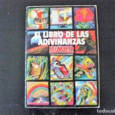 Coleccionismo Álbumes: ALBUM EL LIBRO DE LAS ADIVINANZAS 155 CROMOS. Lote 183898822