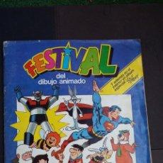 Coleccionismo Álbumes: FESTIVAL DEL DIBUJO ANIMADO - PACOSA DOS - ALBUM AZUL FALTAN 12 CROMOS - ALBUM ROJO FALTAN 3. Lote 184202132