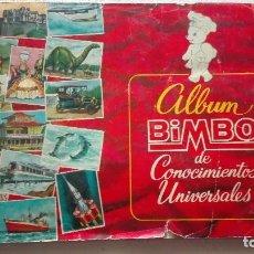 Collectionnisme Albums: ALBUM CROMOS CONOCIMIENTOS UNIVERSALES. Lote 184336318