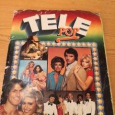 Coleccionismo Álbumes: ALBUM DE CROMOS TELE POP. Lote 185076127