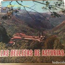 Coleccionismo Álbumes: ALBUN BELLEZAS ASTURIAS INCOMPLETO CON 175 CROMOS. Lote 185701093