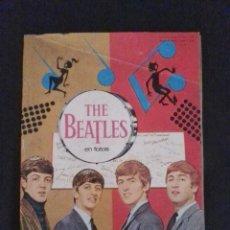 Coleccionismo Álbumes: ÁLBUM DE CROMOS VACÍO THE BEATLES BRUGUERA 1966. Lote 185778717