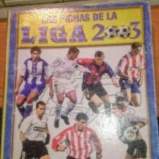 Coleccionismo Álbumes: LIGA 2003 FICHAS 02-03, 467 CROMOS . Lote 186031720
