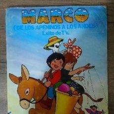 Coleccionismo Álbumes: MARCO DE LOS APENINOS A LOS ANDES. Lote 186046297