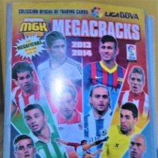 Coleccionismo Álbumes: MEGACRACKS 13 14, 165 CROMOS. Lote 186046728