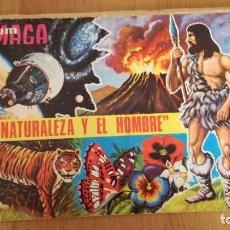 Coleccionismo Álbumes: ÁLBUM MAGA LA NATURALEZA Y EL HOMBRE . Lote 186095292