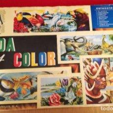 Coleccionismo Álbumes: ÁLBUM VIDA Y COLOR. Lote 186099123