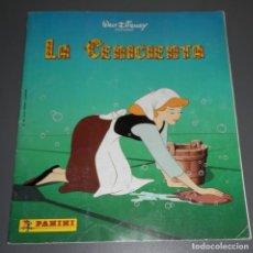 Coleccionismo Álbumes: ÁLBUM DE CROMOS -LA CENICIENTA - PANINI. Lote 186253976