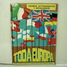 Coleccionismo Álbumes: FALTAN 47 ¡¡ TODA EUROPA -DIFUSORA DE CULTURA 1975-ALBUM CROMOS -MAPAS ESCUDOS SOLDADOS SELLOS RIOS. Lote 186442093