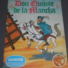 Coleccionismo Álbumes: ALBUM DE CROMOS DON QUIJOTE DE LA MANCHA DE LA DANONE. Lote 186456752