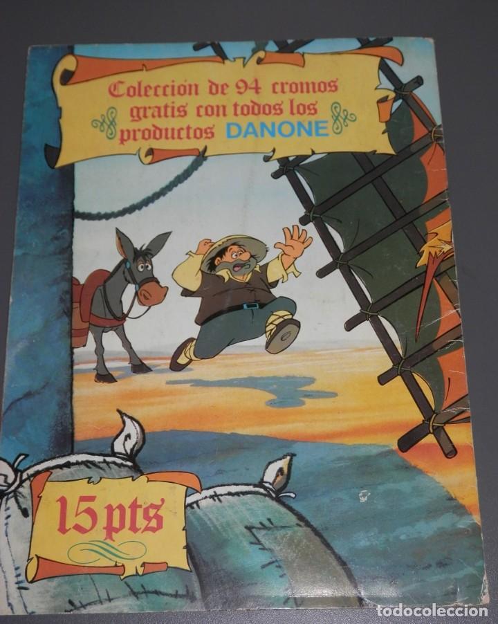 Coleccionismo Álbumes: ALBUM DE CROMOS DON QUIJOTE DE LA MANCHA DE LA DANONE - Foto 2 - 186456752