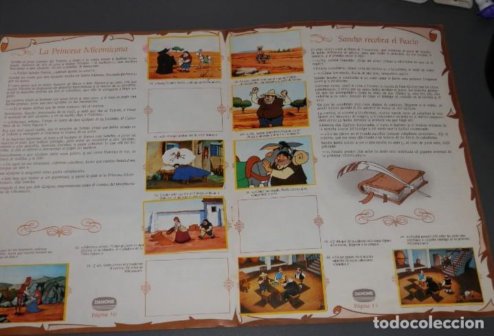 Coleccionismo Álbumes: ALBUM DE CROMOS DON QUIJOTE DE LA MANCHA DE LA DANONE - Foto 3 - 186456752