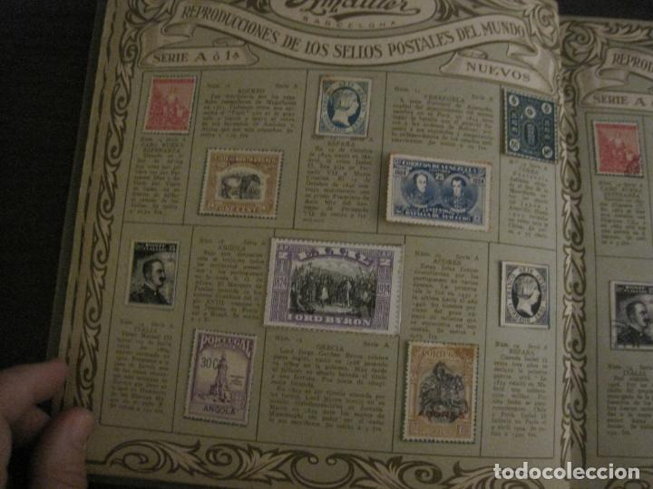 Coleccionismo Álbumes: CHOCOLATE AMATLLER-ALBUM SELLOS POSTALES DEL MUNDO-INCOMPLETO-VER FOTOS-(V-18.606) - Foto 6 - 187120633