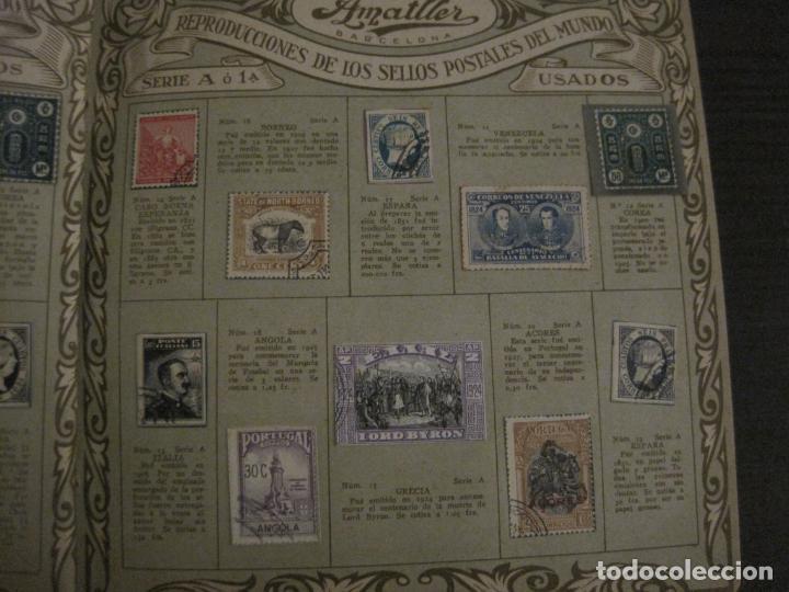 Coleccionismo Álbumes: CHOCOLATE AMATLLER-ALBUM SELLOS POSTALES DEL MUNDO-INCOMPLETO-VER FOTOS-(V-18.606) - Foto 7 - 187120633