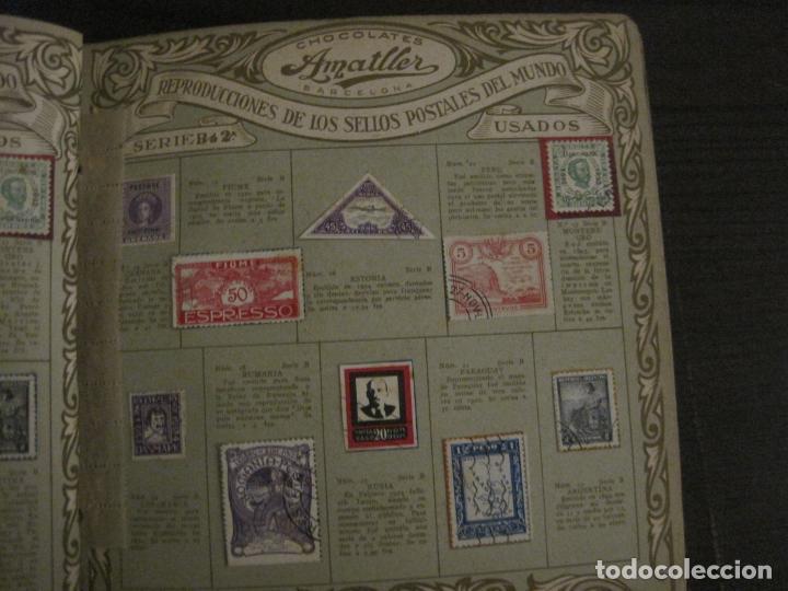 Coleccionismo Álbumes: CHOCOLATE AMATLLER-ALBUM SELLOS POSTALES DEL MUNDO-INCOMPLETO-VER FOTOS-(V-18.606) - Foto 13 - 187120633
