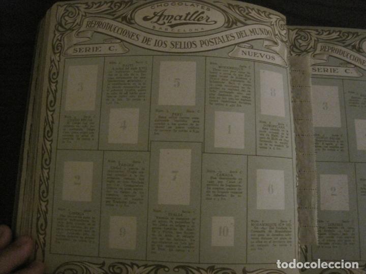 Coleccionismo Álbumes: CHOCOLATE AMATLLER-ALBUM SELLOS POSTALES DEL MUNDO-INCOMPLETO-VER FOTOS-(V-18.606) - Foto 14 - 187120633
