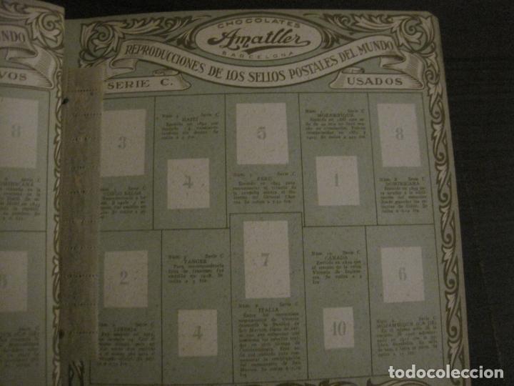 Coleccionismo Álbumes: CHOCOLATE AMATLLER-ALBUM SELLOS POSTALES DEL MUNDO-INCOMPLETO-VER FOTOS-(V-18.606) - Foto 15 - 187120633