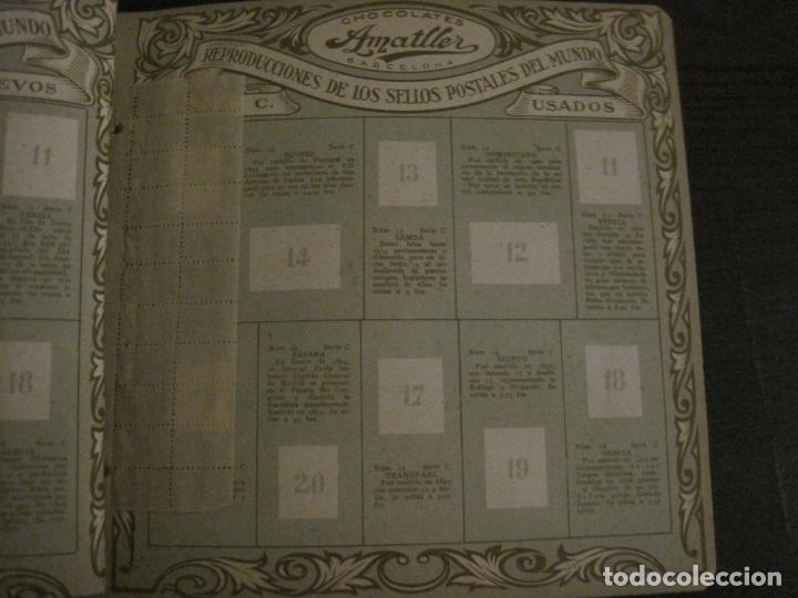 Coleccionismo Álbumes: CHOCOLATE AMATLLER-ALBUM SELLOS POSTALES DEL MUNDO-INCOMPLETO-VER FOTOS-(V-18.606) - Foto 17 - 187120633