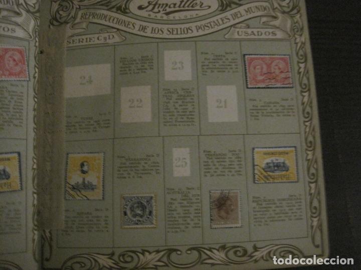 Coleccionismo Álbumes: CHOCOLATE AMATLLER-ALBUM SELLOS POSTALES DEL MUNDO-INCOMPLETO-VER FOTOS-(V-18.606) - Foto 19 - 187120633