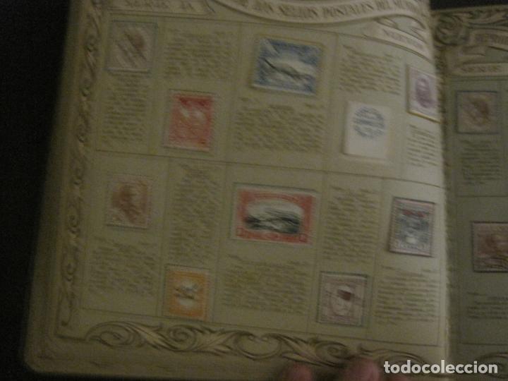 Coleccionismo Álbumes: CHOCOLATE AMATLLER-ALBUM SELLOS POSTALES DEL MUNDO-INCOMPLETO-VER FOTOS-(V-18.606) - Foto 20 - 187120633