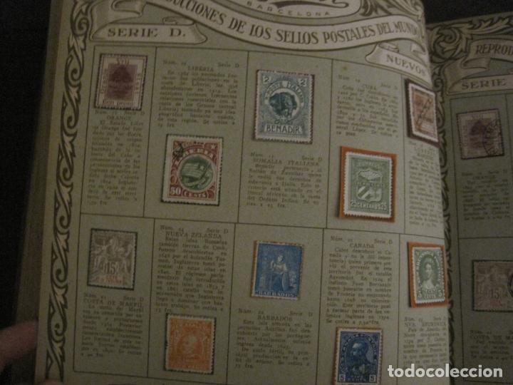 Coleccionismo Álbumes: CHOCOLATE AMATLLER-ALBUM SELLOS POSTALES DEL MUNDO-INCOMPLETO-VER FOTOS-(V-18.606) - Foto 22 - 187120633