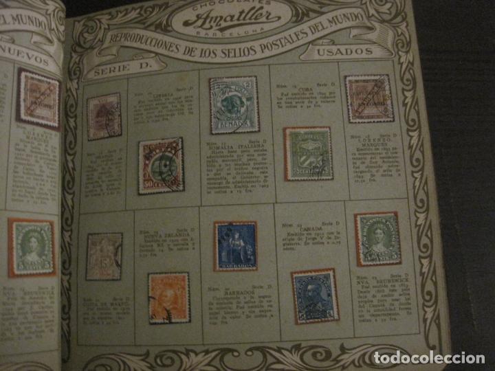 Coleccionismo Álbumes: CHOCOLATE AMATLLER-ALBUM SELLOS POSTALES DEL MUNDO-INCOMPLETO-VER FOTOS-(V-18.606) - Foto 23 - 187120633