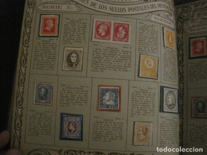 Coleccionismo Álbumes: CHOCOLATE AMATLLER-ALBUM SELLOS POSTALES DEL MUNDO-INCOMPLETO-VER FOTOS-(V-18.606) - Foto 24 - 187120633