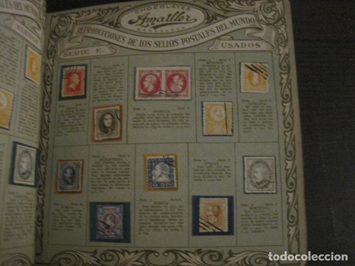Coleccionismo Álbumes: CHOCOLATE AMATLLER-ALBUM SELLOS POSTALES DEL MUNDO-INCOMPLETO-VER FOTOS-(V-18.606) - Foto 25 - 187120633
