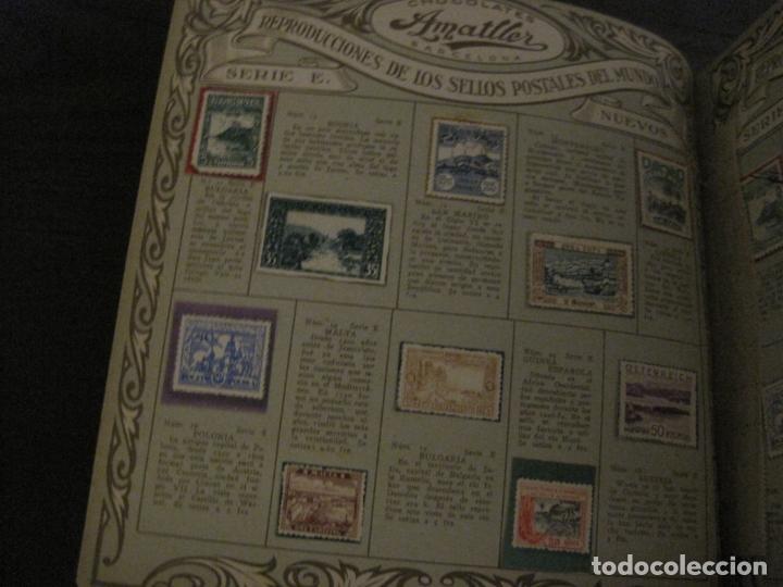Coleccionismo Álbumes: CHOCOLATE AMATLLER-ALBUM SELLOS POSTALES DEL MUNDO-INCOMPLETO-VER FOTOS-(V-18.606) - Foto 26 - 187120633