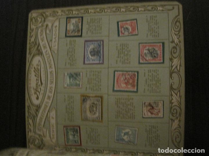 Coleccionismo Álbumes: CHOCOLATE AMATLLER-ALBUM SELLOS POSTALES DEL MUNDO-INCOMPLETO-VER FOTOS-(V-18.606) - Foto 29 - 187120633