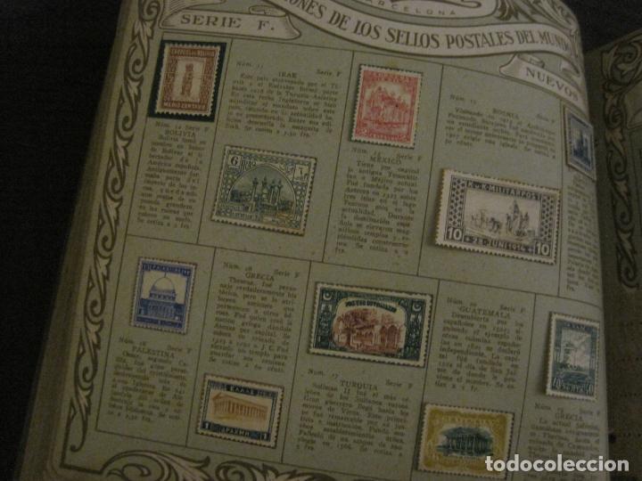 Coleccionismo Álbumes: CHOCOLATE AMATLLER-ALBUM SELLOS POSTALES DEL MUNDO-INCOMPLETO-VER FOTOS-(V-18.606) - Foto 30 - 187120633