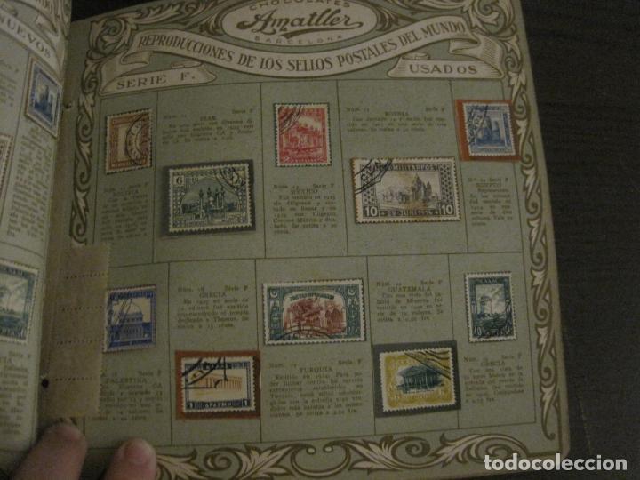 Coleccionismo Álbumes: CHOCOLATE AMATLLER-ALBUM SELLOS POSTALES DEL MUNDO-INCOMPLETO-VER FOTOS-(V-18.606) - Foto 31 - 187120633