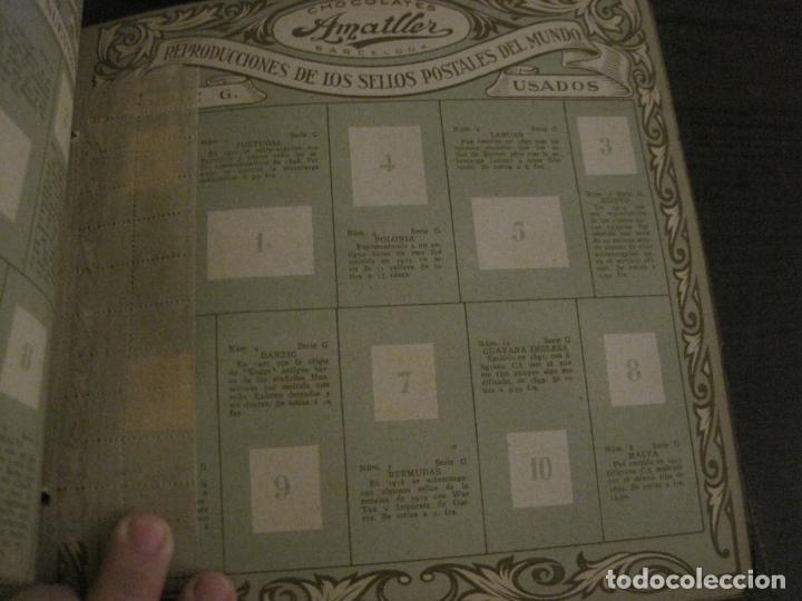 Coleccionismo Álbumes: CHOCOLATE AMATLLER-ALBUM SELLOS POSTALES DEL MUNDO-INCOMPLETO-VER FOTOS-(V-18.606) - Foto 33 - 187120633