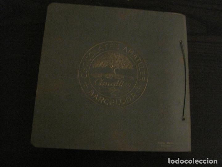 Coleccionismo Álbumes: CHOCOLATE AMATLLER-ALBUM SELLOS POSTALES DEL MUNDO-INCOMPLETO-VER FOTOS-(V-18.606) - Foto 37 - 187120633