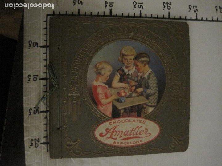 Coleccionismo Álbumes: CHOCOLATE AMATLLER-ALBUM SELLOS POSTALES DEL MUNDO-INCOMPLETO-VER FOTOS-(V-18.606) - Foto 38 - 187120633