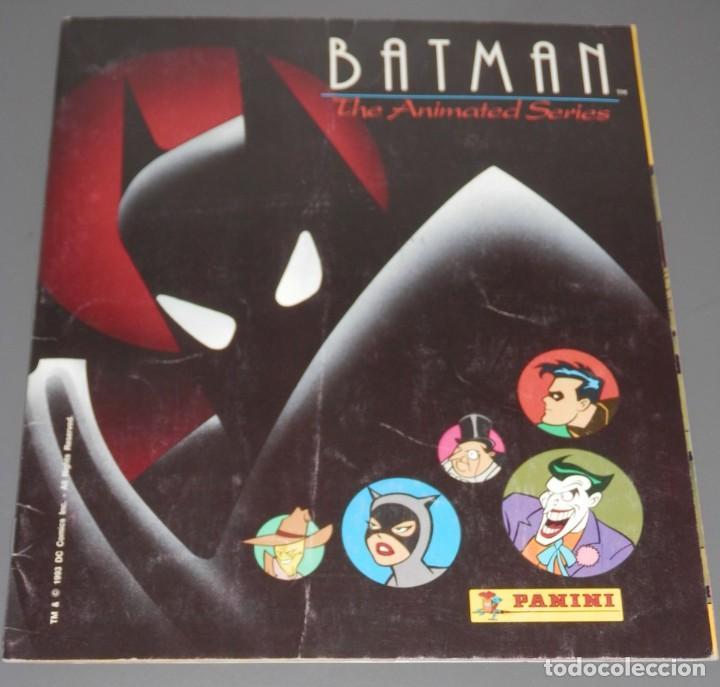 ALBUM DE CROMOS BATMAN - DE LA PANINI (Coleccionismo - Cromos y Álbumes - Álbumes Incompletos)