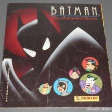 Coleccionismo Álbumes: ALBUM DE CROMOS BATMAN - DE LA PANINI. Lote 187121307