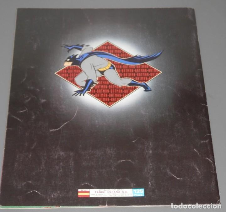 Coleccionismo Álbumes: ALBUM DE CROMOS BATMAN - DE LA PANINI - Foto 2 - 187121307
