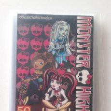 Coleccionismo Álbumes: ALBUM MONSTER HIGH CON 89 PHOTO CARDS DE 108. Lote 187231161