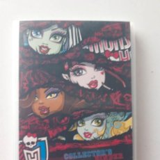 Coleccionismo Álbumes: ALBUM MONSTER HIGH CON 67 PHOTO CARDS DE 108. Lote 187231166