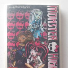 Coleccionismo Álbumes: ALBUM MONSTER HIGH CON 99 PHOTO CARDS DE 108. Lote 187231167