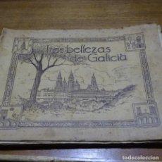 Coleccionismo Álbumes: ALBUM LAS BELLEZAS DE GALICIA.1935.NUMERO ALBUM 604.. Lote 187464591