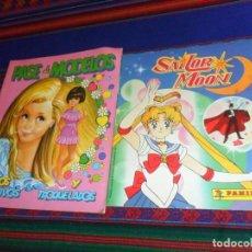 Coleccionismo Álbumes: SAILOR MOON INCOMPLETO CON REPETIENDA 6. PANINI 1992. REGALO PASE DE MODELOS INCOMPLETO. COMICROMO.. Lote 187525677